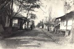 13х18..... Улица Войкова г.Рыбницы. Снимок начала 60х гг. ХХ века.